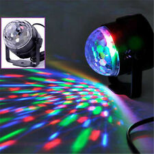 1× RGB DJ Light LED Stage Lighting Crystal Magic Ball Effect Bar Disco Party CN