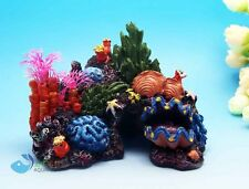 Aquarium Decoration Assort  Fake Coral plant For fish Tank Resin Ornaments AK128