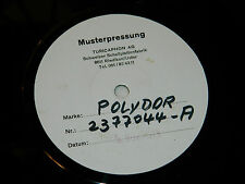LP PROMO MUSTERPLATTE MUSTEPRESSUNG polydor 2377044-A-B TURICAPHON AG 5/11/1973