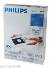Genuine Philips S Bag FC8021 4 Pack Fits Many Models