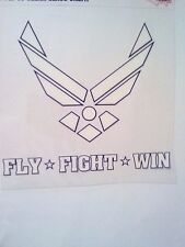U.S. Air Force Fly - Fight - Win Decal