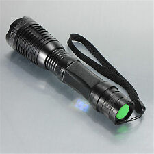 Black 3000LM Zoom FOR Cree XML T6 LED 18650 Flashlight Focu Torch Lamp Ligh