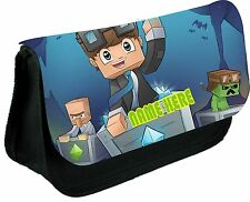 DAN TDM DIAMOND MINECART PERSONALISED PENCIL CASE