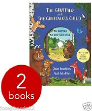 NEW  the GRUFFALO ANNIVERSARY EDITION SET - 2 Books with CD  Gruffalo's Child