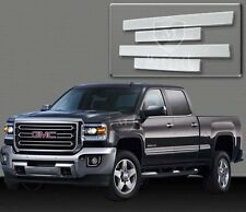 NEW 2014-2016 SILVERADO CREW CAB CHROME BODY SIDE MOLDING 4D TRIM CHEVROLET