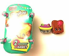 NEW! Shopkins Season 3 Figures Mystery Pack Toast Toastie Bread Queen of Tarts
