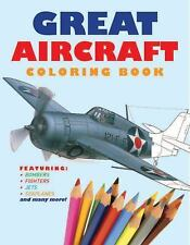 Chartwell Coloring Bks.: Great Aircraft Coloring Book (2014, Paperback)