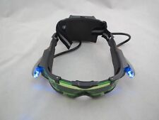 Eye Protector Glasses Adjustable LED Night Vision Goggles Green Lens Protection