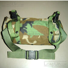 US Military MOLLE Waist Butt Pack Woodland Genuine US Military