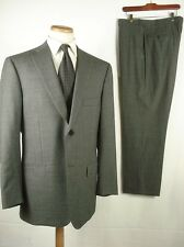 "Mint Isaia Napoli ""Base S"" Super 110's Wool 2B Suit Gray Sz 54 44"