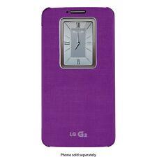 NEW LG G2 Quick Cover Window Folio Case for Verizon Purple