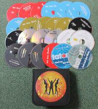 24 Hörbuch Hörspiel CDs + Tasche Krimi Thriller Grusel Hörbücher Hörspiele NEU