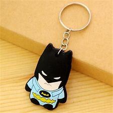 Comics Batman Keyring Keychain Japanese Anime Keyring Key Ring Chain Gift ^