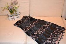 BCBG DUSTYPINK/BLACK LACE COCKTAIL DRESS SZ 4