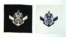 Sea Scouts Exploring BSA - 2 Vintage Assistant Crew Leaders Badges 1949/1980 New