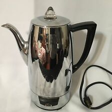 VINTAGE ELECTRIC KENMORE PERCOLATOR COFFEE MAKER #31167110 COMPLETE
