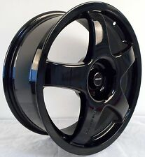 "17 ""Team D Pro Race 3.0 NERO RUOTE IN LEGA 4x108 Si Adatta Ford Focus Fusion e Ka"