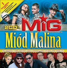 MIG MIOD MALINA (2 CD)  DISCO POLO CD POLISH POLSKIE