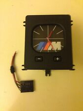 bmw E30 M look EURO analog clock with pigtail and frame