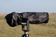 Waterproof Black Cover for Sigma 150-600mm f/5-6.3 DG OS HSM Sport & carry pouch