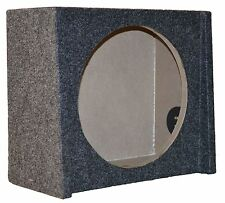 """FORD SINGLE 12"""" SUBWOOFER ENCLOSURE UNDER SEAT SHALLOW MOUNT DOWNFIRE BOX"""