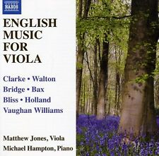Matthew Jones - English Music for Viola [New CD]