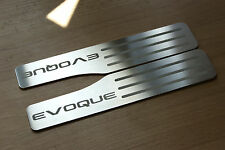 RANGE ROVER EVOQUE DOOR SILL TREAD PLATES REAR SET OF 2