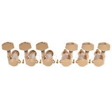 Electric Acoustic Guitar String Tuning Pegs Machine Heads Keys Tuners 3x3 Gold
