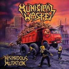 "Municipal Waste ""Hazardous Mutation"" CD - NEW!"