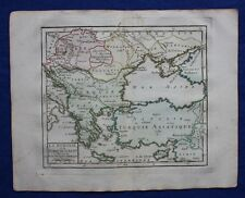 Original antique map HUNGARY, BALKANS, TURKEY, BLACK SEA, Brion de la Tour, 1774