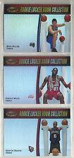 2000-01 Bowman's Best Rookie Locker Room 15-card NBA Insert Set  Mike Miller