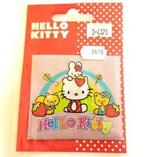 motif thermocollant hello kitty licence sanrio - 65x70mm