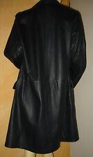 Prada * Leder Mantel * schwarz * Gr. M * Leather Coat * black *