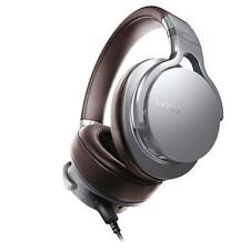 Sony MDR-1ADAC-Silver Noise Cancelling Over-Ear Headphones w/ Built-in DAC