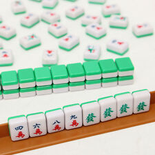 Portable Mini Mahjong Chinese Traditional Game Tiles 144 Set Travel Outdoor Play