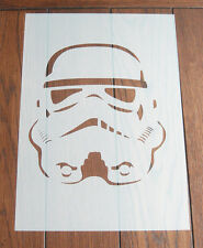 Stormtrooper Stencil Mask Reusable Mylar Sheet for Arts & Crafts, DIY