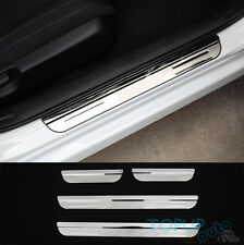 FOR FOR 16 17 HONDA CIVIC DOOR SILL PANEL SCUFF PLATE STEP COVER TRIM PROTECTOR