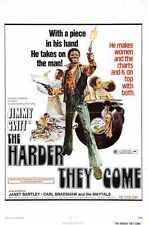 Harder They Come Poster 01 A3 Box Canvas Print