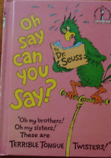 Oh Say Can You Say? by Dr. Seuss (Hardback, 1979)