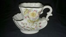 Taza de porcelana vintage de afeitar. Apple Blossom. no Maker.