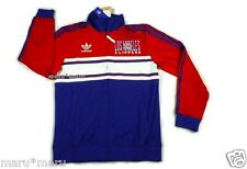 $90 New ADIDAS LA CLIPPERS Track Jacket LARGE Blue-Red NBA running france russia