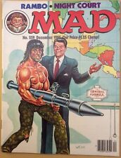 1985 Mad Magazine #259: Rambo/Night Court