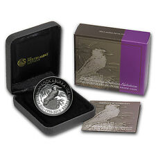 2015 Australia 1 oz Silver Kookaburra 25th Anniv Proof (HR)