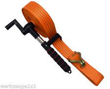 Enrouleur De Sangle Tension À Cliquet CAMION VOITURE Speedexx jusqu'à 15 Mètre L