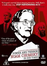 Power and Terror - Noam Chomsky DVD NEW