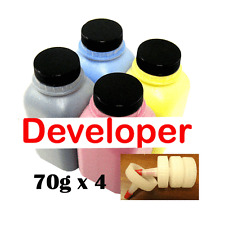 (70g x 4) DEVELOPER Toner Refill for Lexmark X560, X560n Color Laser Printer