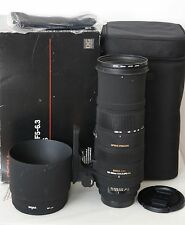 Sigma 150-500mm APO HSM DG OS Lens (Canon EF fit)