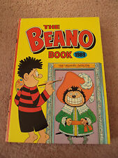 The Beano Book Annual 1989 Dennis the Menace Retro Vintage Comic Christmas Gift