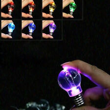 Hot Bulb Change Color LED Party Light Mini Key Chain Xmas Gifts New