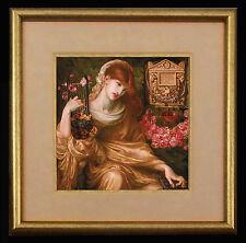 Pre-Raphaelite Art: LA VIUDA ROMANA (Rossetti)